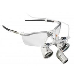 HEINE LoupeLight 2 Set con Occhialini Binoculari HR 2.5x / 340